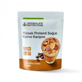 Herbalife Yüksek Proteinli Soğuk Kahve Karışımı Latte Macchiato 308 g