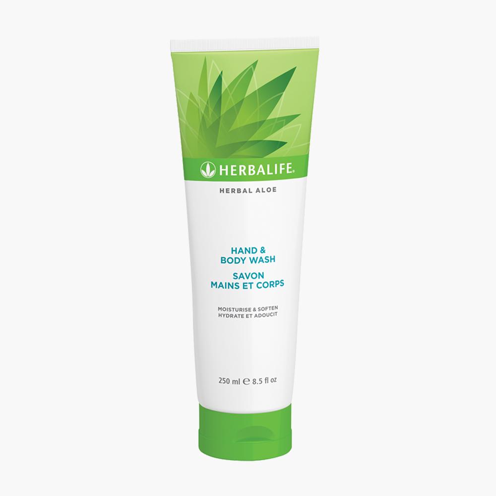 Herbal Aloe El ve Vücut Şampuanı 250ml - herbalsiparisim
