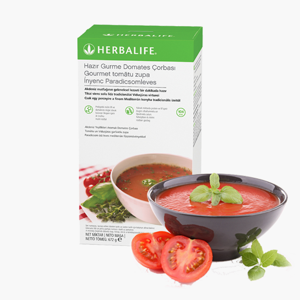 Herbalife Hazır Gurme Domates Çorbası - herbalsiparisim