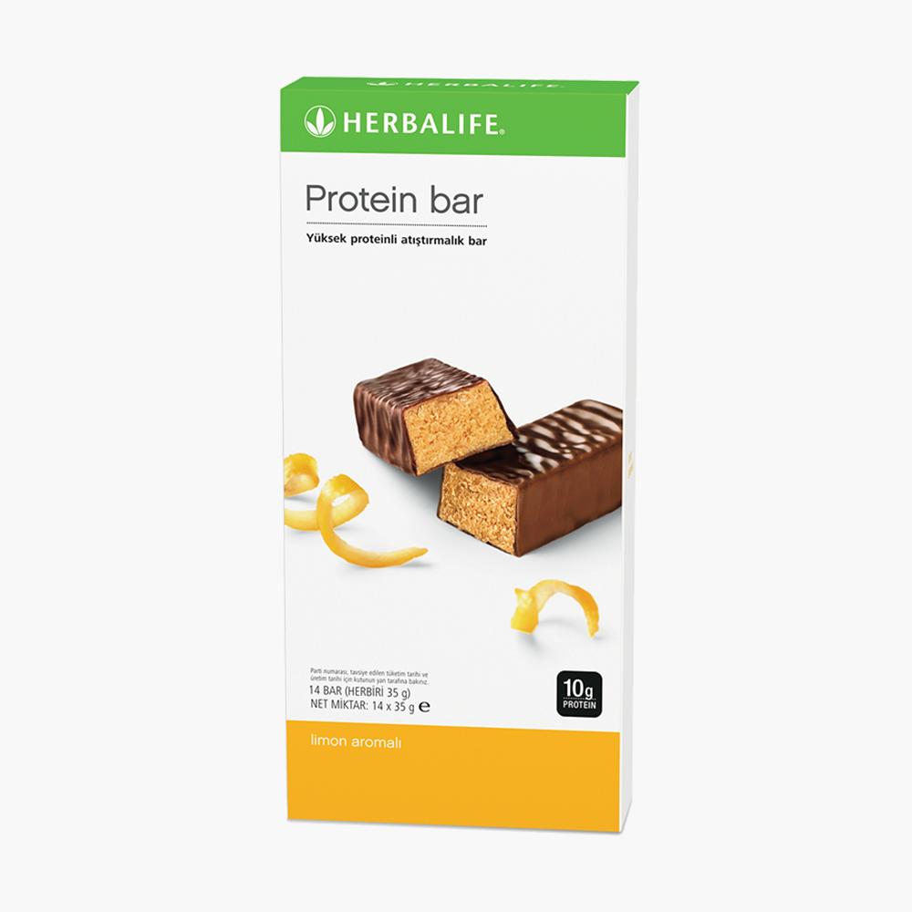 Herbalife Protein Bar Limon Aromalı - herbalsiparisim