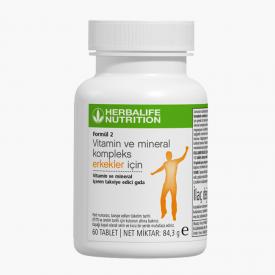 Herbalife Formül 2 Vitamin ve Mineral Kompleks Erkekler İçin