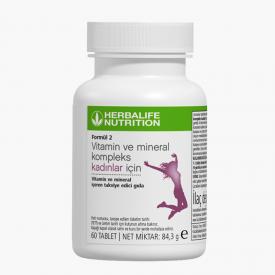 Herbalife Formül 2 Vitamin ve Mineral Kompleks Kadınlar İçin