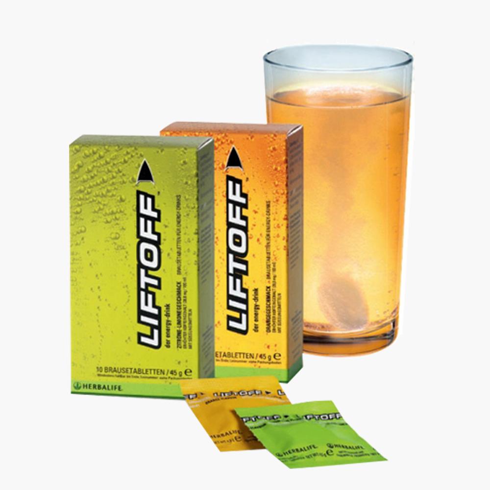 Herbalife Liftoff Limon Aromalı - herbalsiparisim