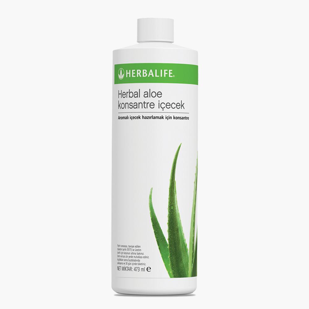 Herbal Aloe Konsantre İçecek 473ml - herbalsiparisim