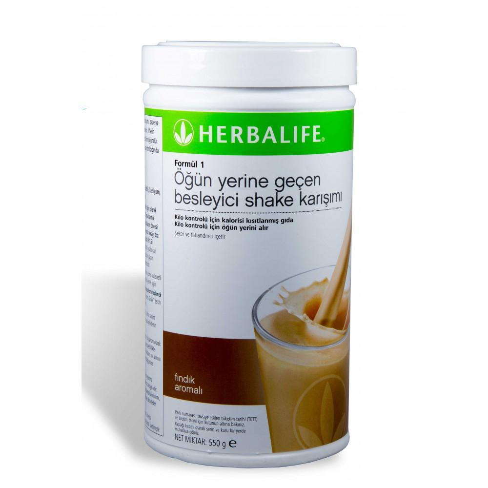 Herbalife Fındıklı Shake - herbalsiparisim